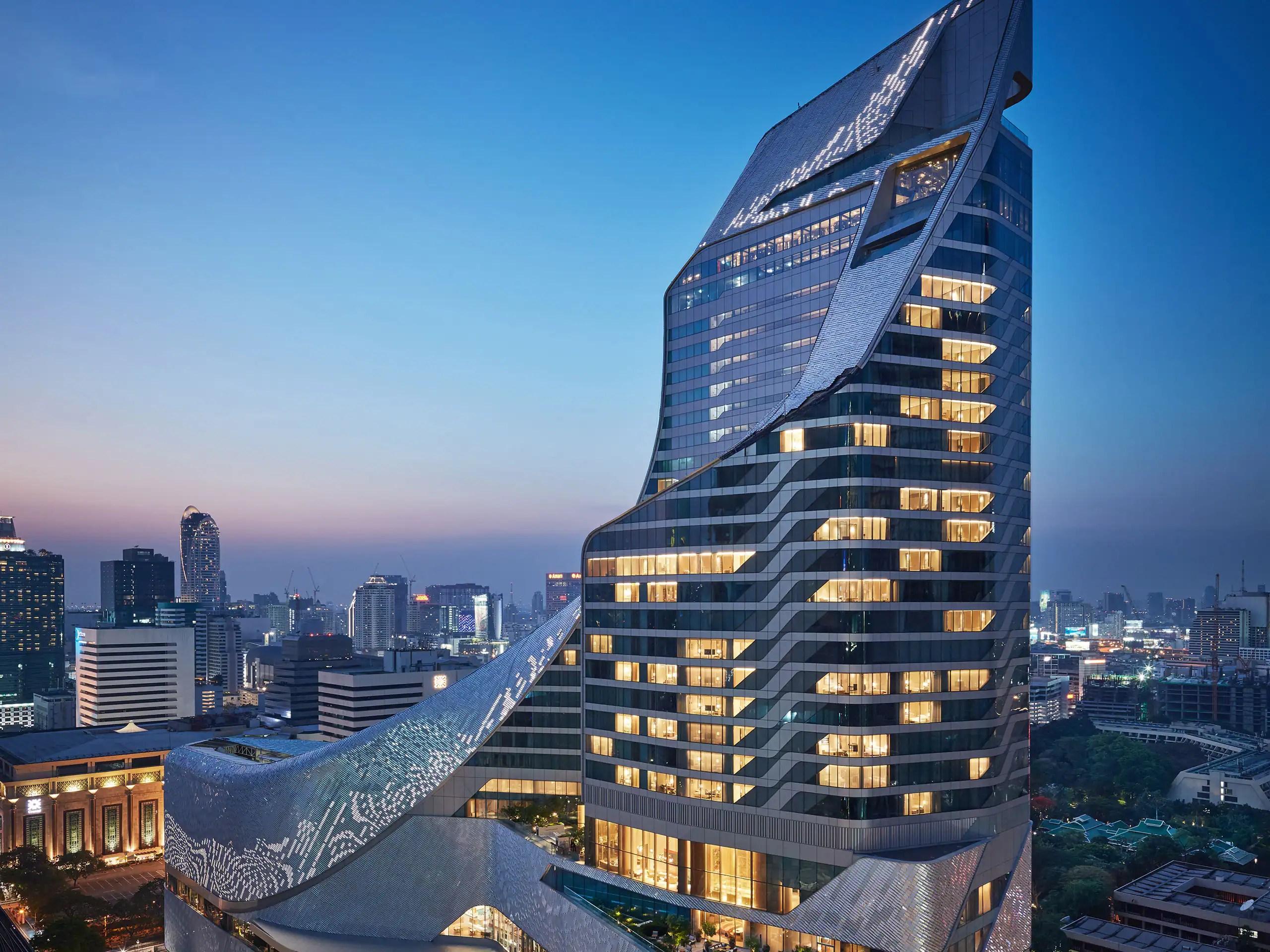 Luxury 5-star Hotel In Bangkok Park Hyatt