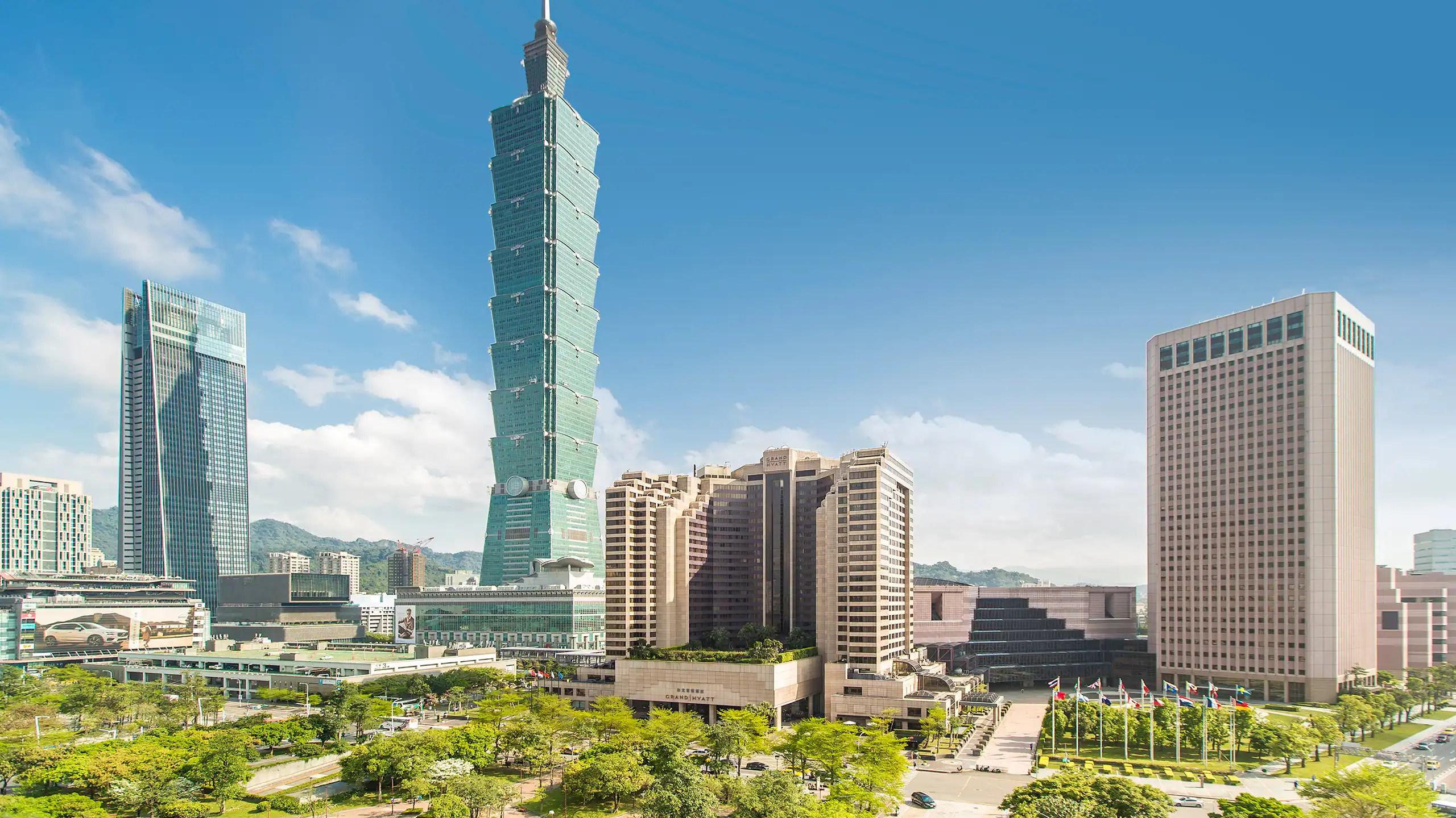 5 Star Hotel Near Taipei 101 In Xinyi Grand Hyatt Taipei