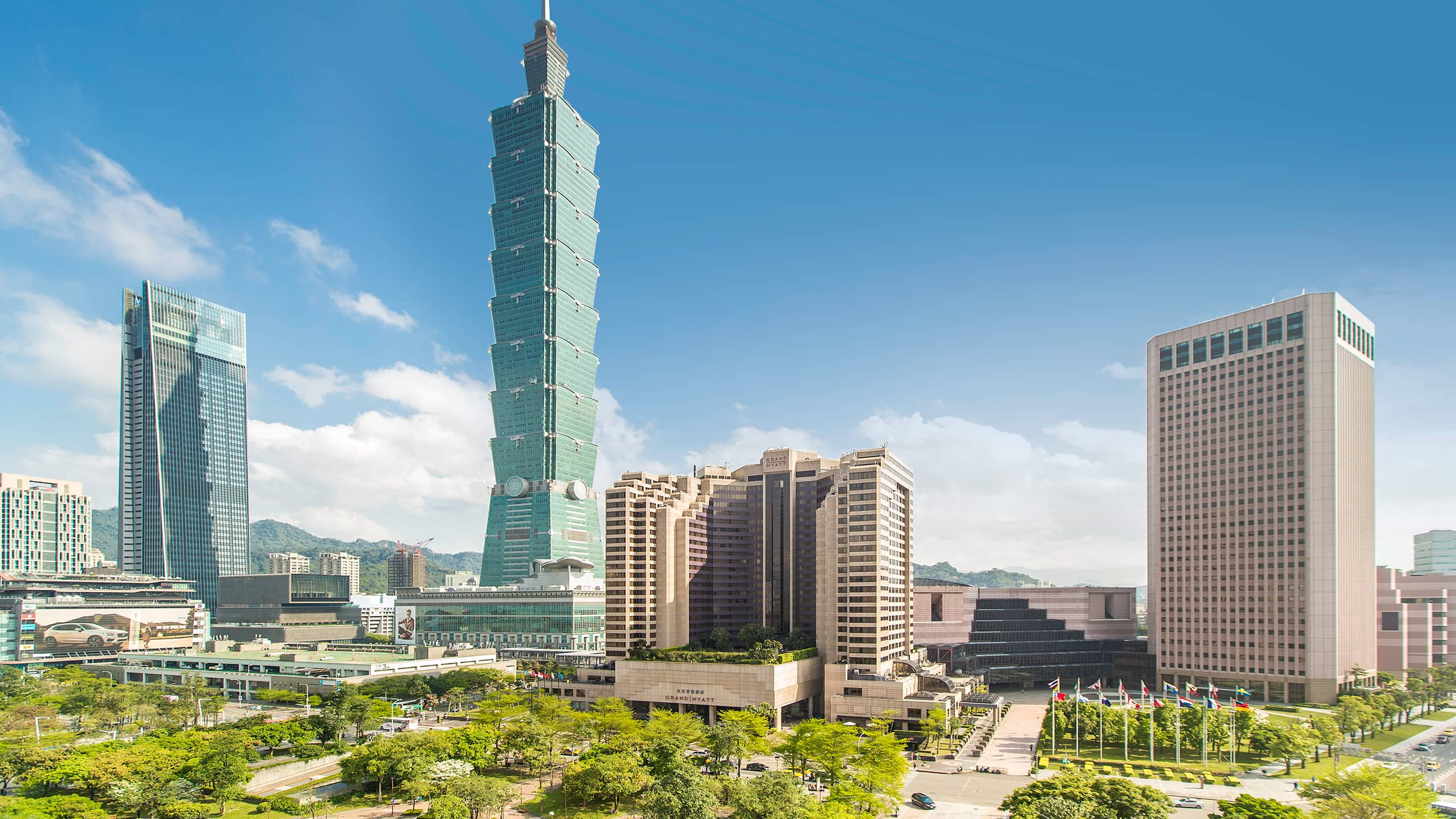 5 Star Hotel Near Taipei 101 In Xinyi Grand Hyatt Taipei