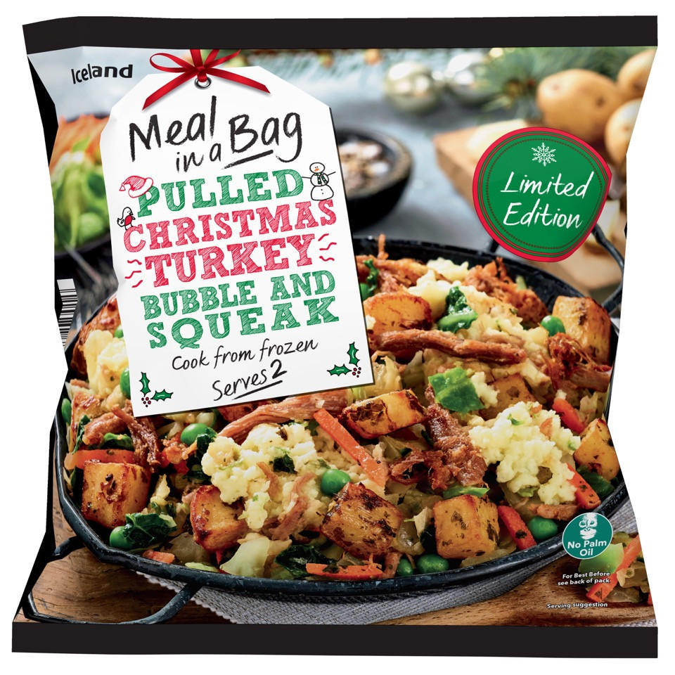 iceland meal in bag