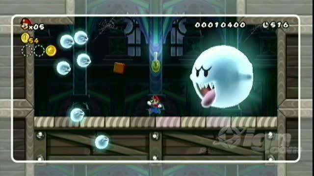 Ghost Wii 3d U House Super World Mario World Star
