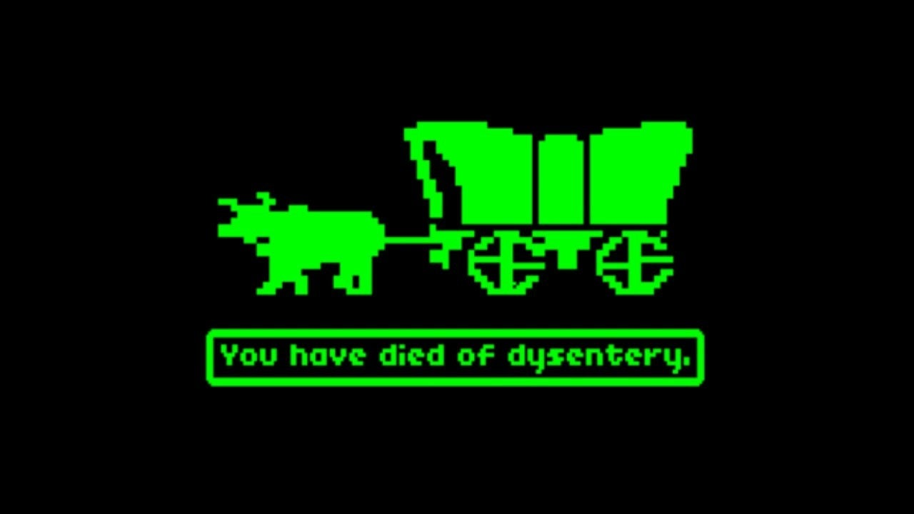 Oregon Trail You Have Died Of Dysentery IGN Video