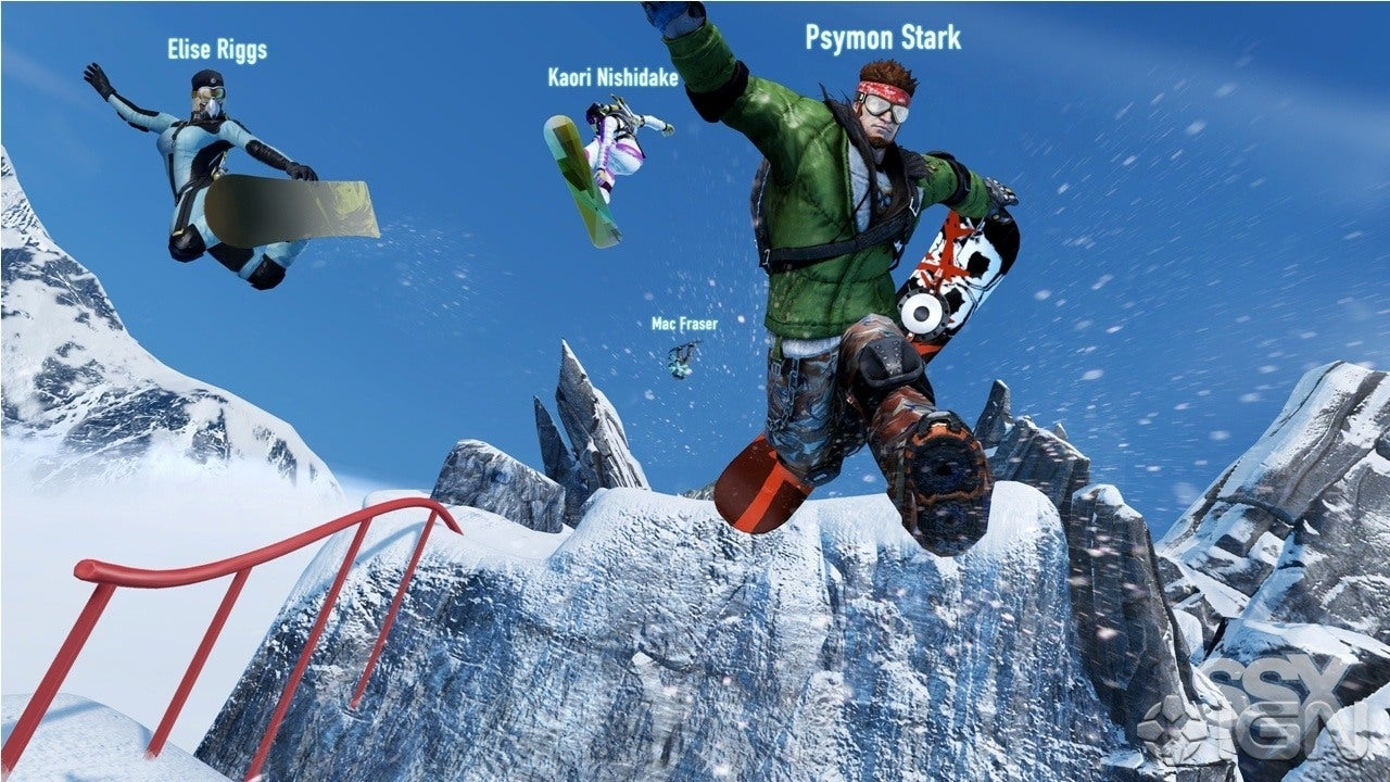 SSX First Look Gameplay Teaser IGN Video
