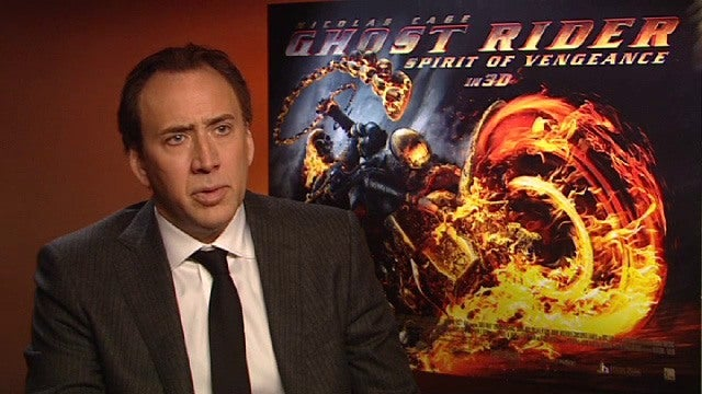 Ghost Rider Spirit of Vengeance  Nicolas Cage Interview  IGN Video