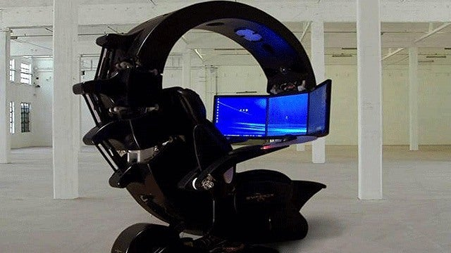 CES The Best PC Gaming Chair  IGN Video