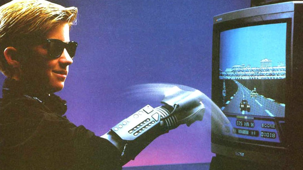 Was The Power Glove The Best Video Game Accessory Up At