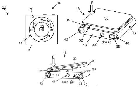 Apple patents fourth-generation iPod shuffle