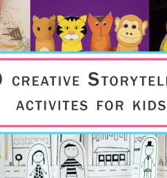 15 StoryTelling Activities for Kids \u0026 Game Ideas   Imagine Forest [ 800 x 1500 Pixel ]