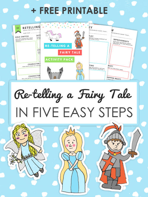 small resolution of How to Retell a Fairy tale in 5 Easy Steps   Imagine Forest