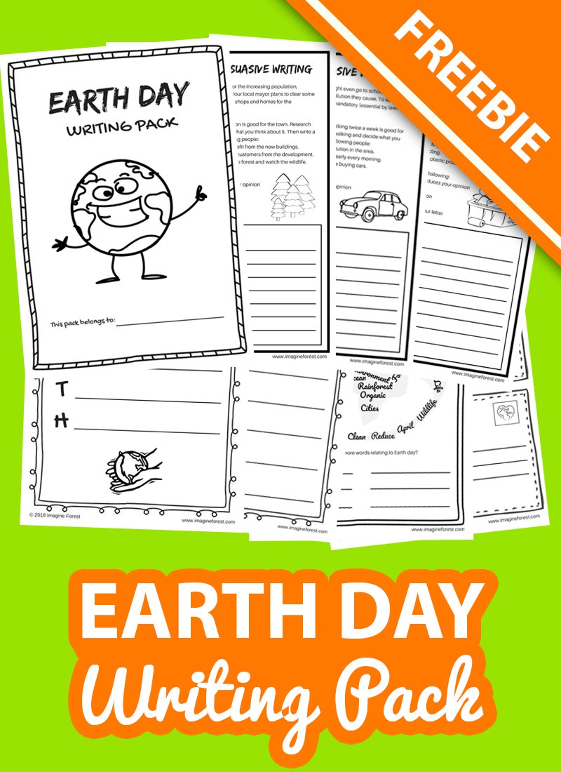 hight resolution of 12 Earth Day Writing Prompts for Kids   Imagine Forest