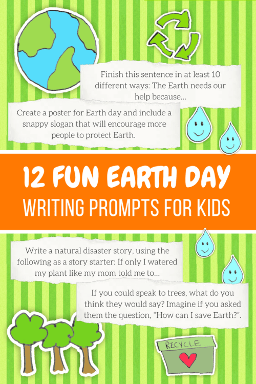 small resolution of 12 Earth Day Writing Prompts for Kids   Imagine Forest