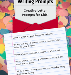 32+ Letter Writing Prompts: Letter Writing Ideas ✉️   Imagine Forest [ 1102 x 735 Pixel ]