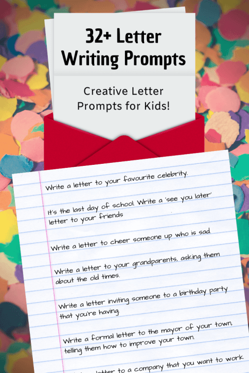 small resolution of 32+ Letter Writing Prompts: Letter Writing Ideas ✉️   Imagine Forest