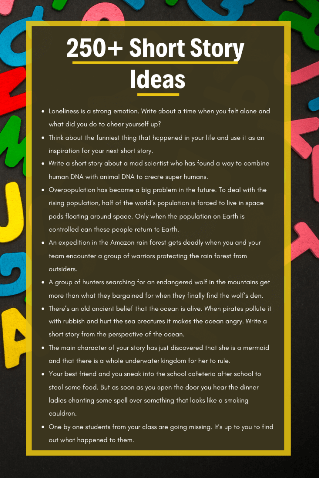 27+ Short Story Ideas for Kids  Ultimate List  Imagine Forest