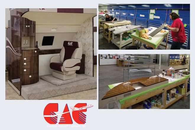Custom Aircraft Cabinets of Sherwood Sells to the World