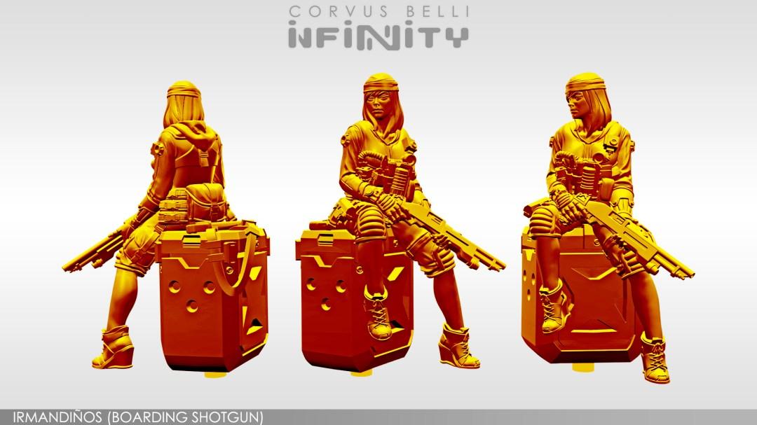 Infinity Ariadna Irmadinhos femenina