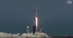 NASA Astronauts Successfully Blast Off Into Space On A SpaceX Rocket