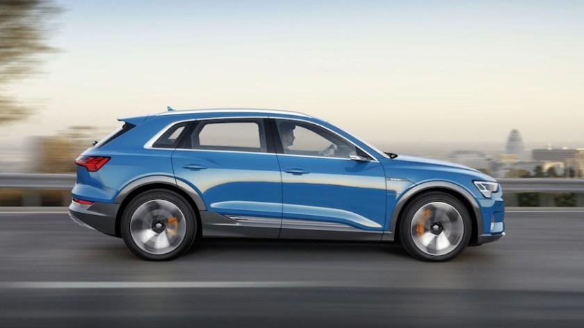 Audi e-tron, a high-end electric.