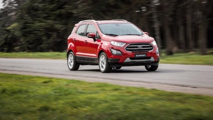 Ford Ecosport, otro modelo con alta demanda en nuevo o usado.