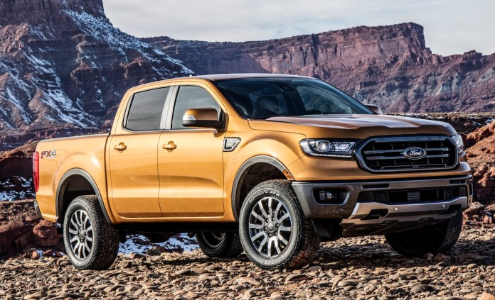 Ford Ranger, tercera pick up en el podio.