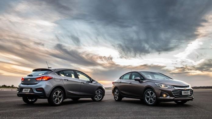Chevrolet Cruze, con opciones de compra a largo plazo.