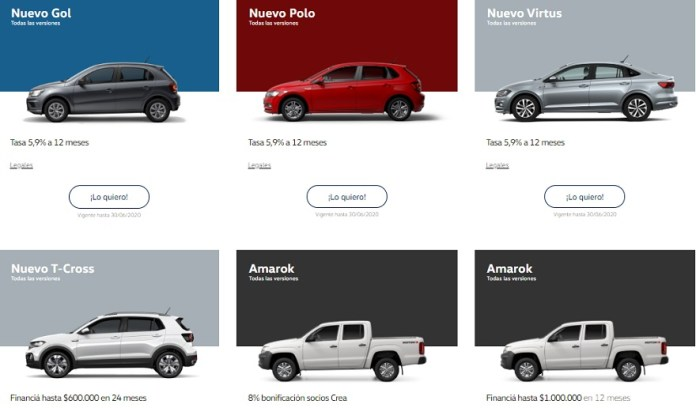Volkswagen, with different proposals in all its models.