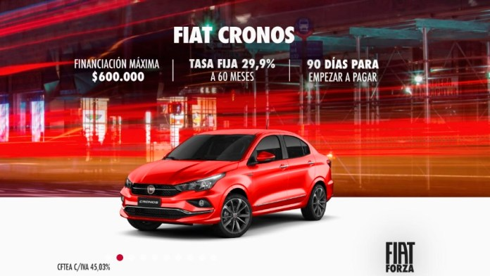 Fiat Cronos, with benefits in June.