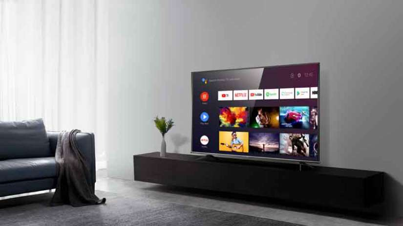 Most 4K TVs include native apps from Netflix and other streaming services.