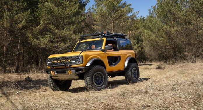 Ford Bronco, el nuevo SUV desembarca este año en el país.