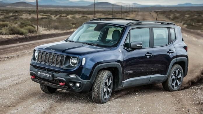 Jeep Renegade, otro de los SUV más vendidos.
