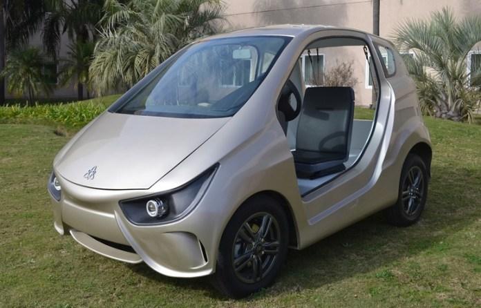 Volt, el auto de fabricación nacional que ya se vende en el mercado.