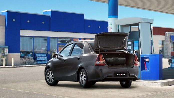 Toyota Etios, listo para GNC.
