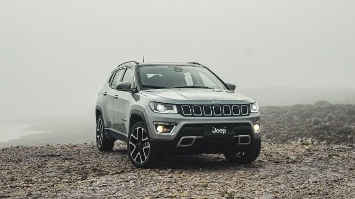 Jeep Compass, el mediano del a marca que más crece en ventas.