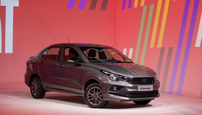 Fiat Cronos, el auto más vendido del mercado.