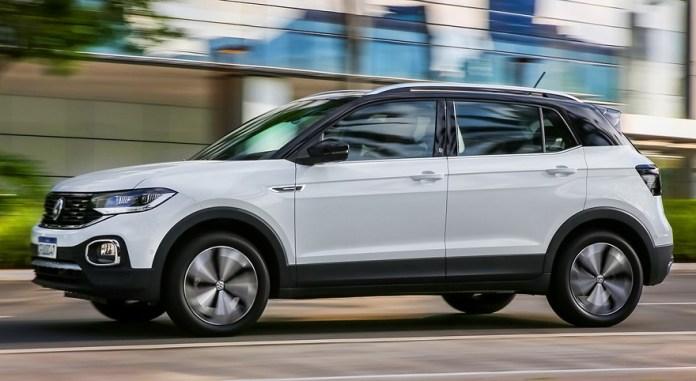 Volkswagen T-Cross, el SUV más vendido del segmento.
