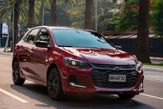 Chevrolet Onix, otro de los modelos más vendidos.