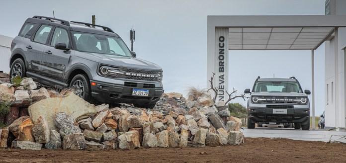 La nueva Ford Bronco Sport, uno de los lanzamientos del año en la Argentina.
