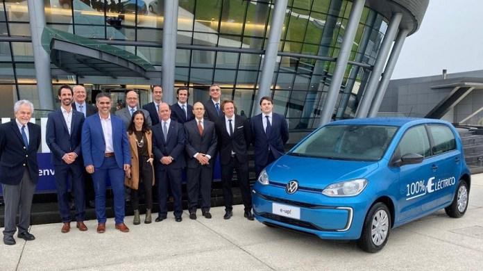 Volkswagen lanza el nuevo Up! en Brasil.