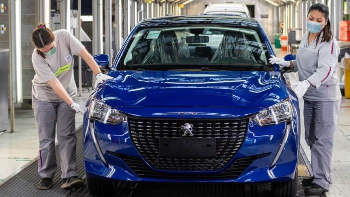 Peugeot 208 en pleno proceso de incremento de la producción.