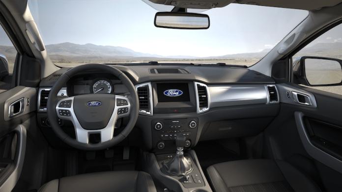 Camionetas Ford Ranger, el tecnológico interior.