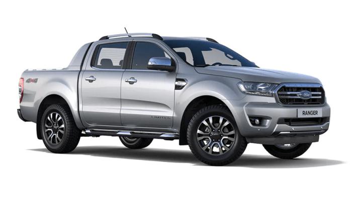 Ford Ranger Limited, la más completa.