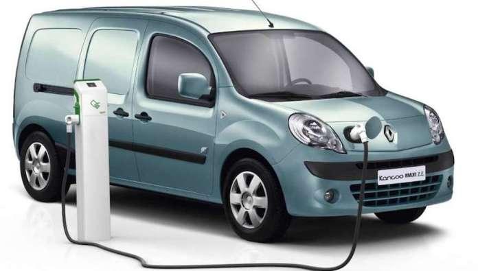 Renault Kangoo ZE, el único utilitario de carga eléctrico.