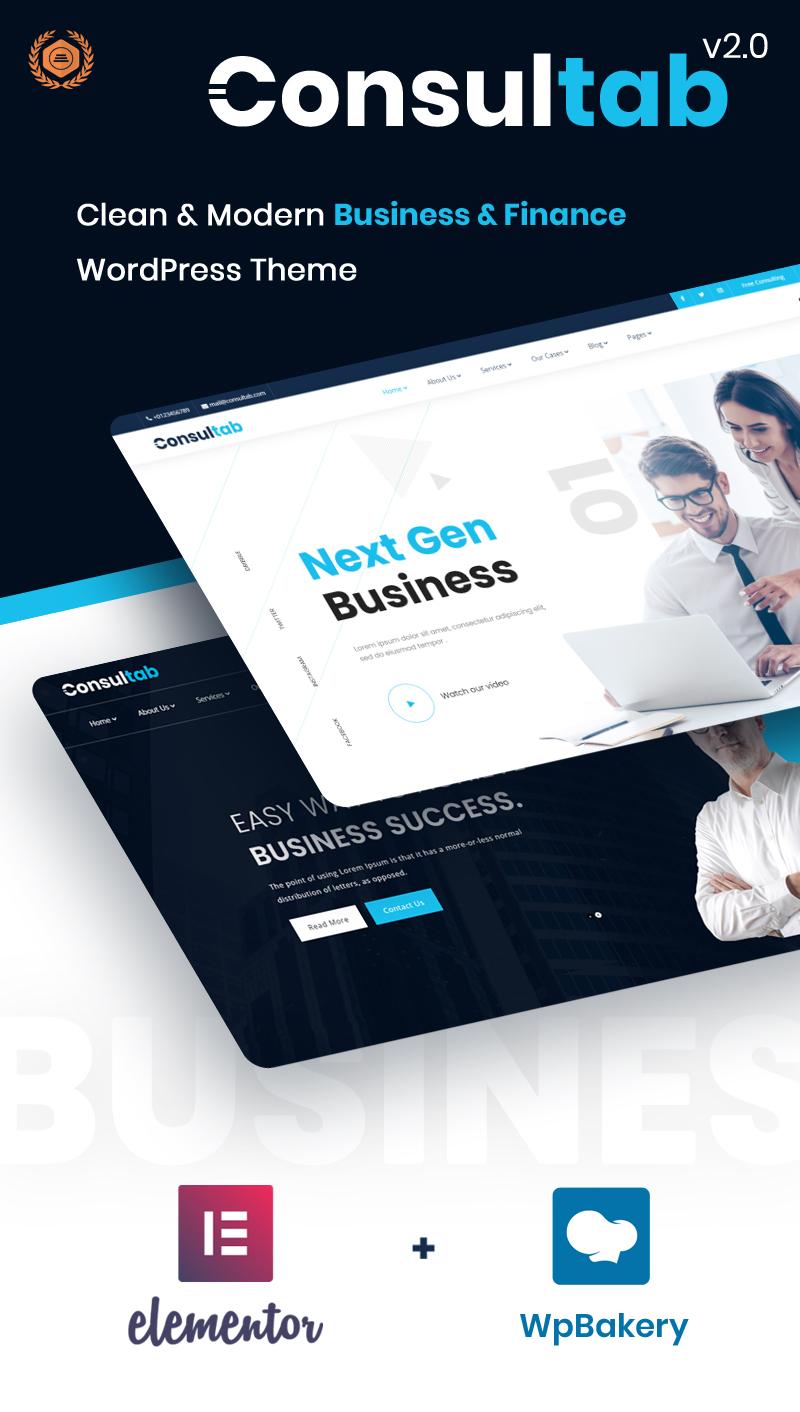 Consultab - Consulting Business & Finance WordPress Theme - 5