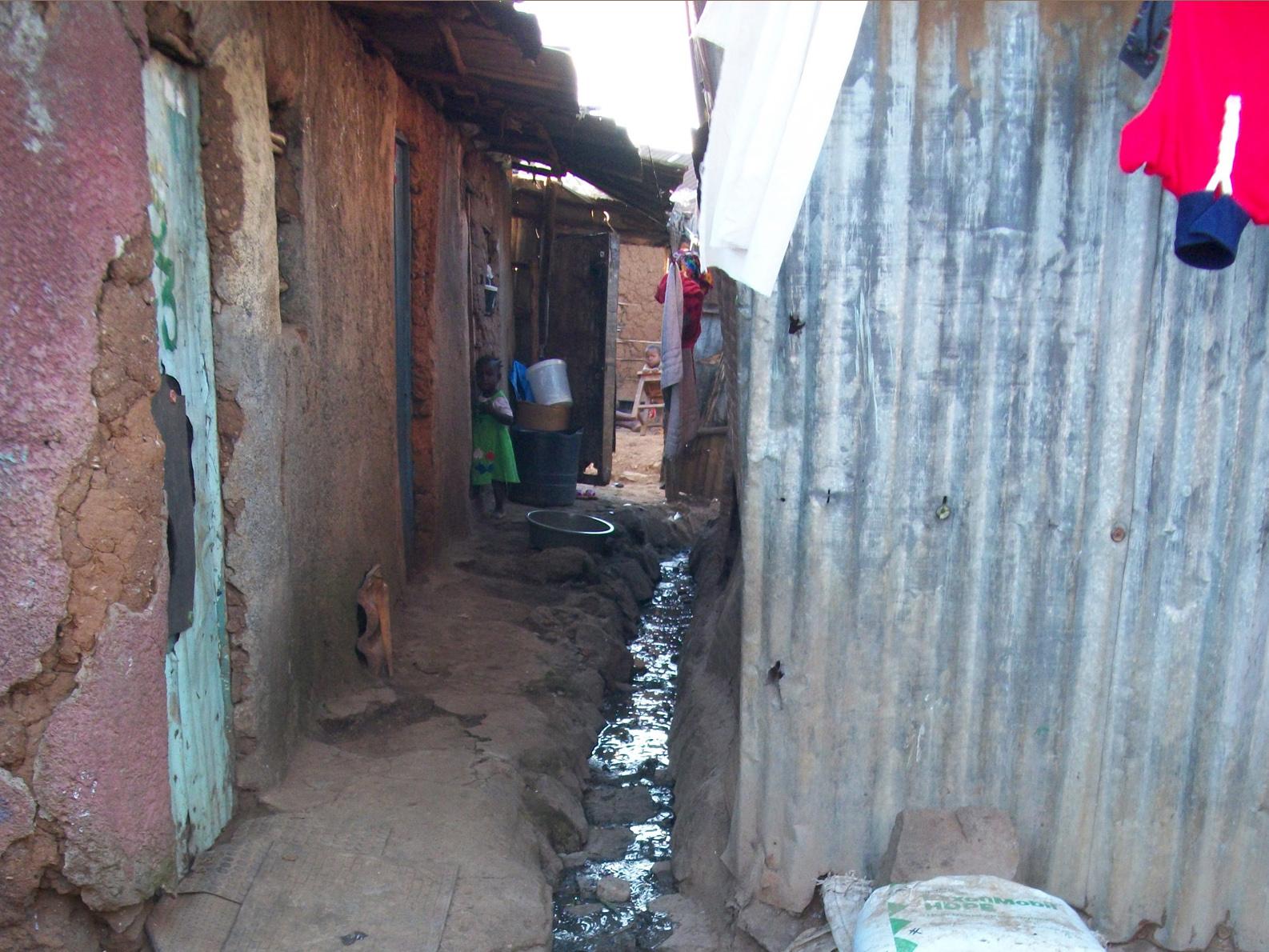 IRIN  Poor sanitation brings misery to slums