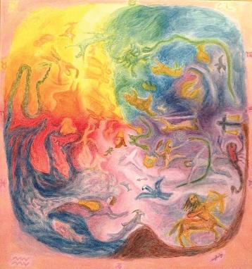 Image result for spiritual science painting