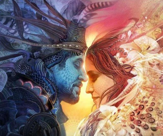 Resultado de imagen de amor kármico almas gemelas o llamas gemelas