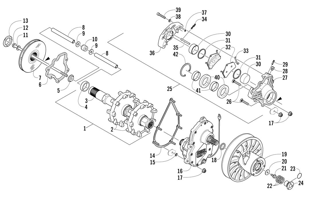 Arctic Cat Snowmobile Crossfire 700 Efi Illustrated Parts