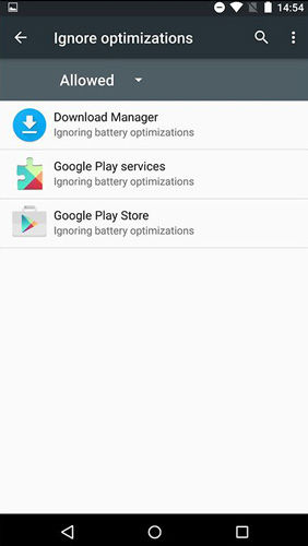 Tips Android M - Ignore Battery Optimization