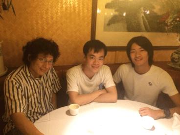 JinとJianと筆者