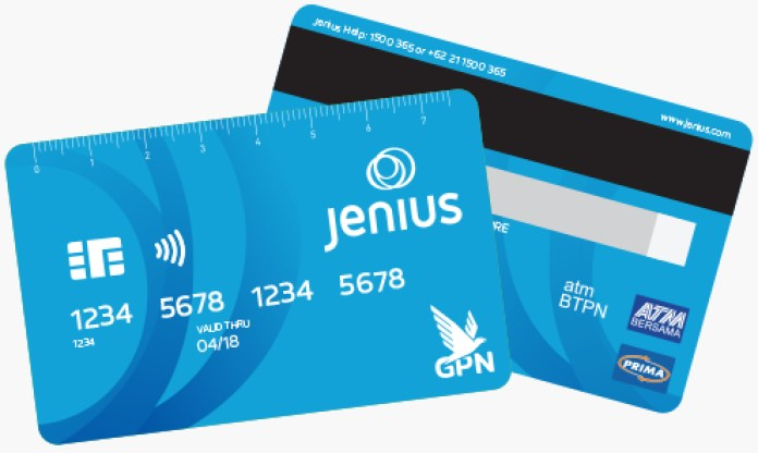 Image result for Kartu Debit Jenius